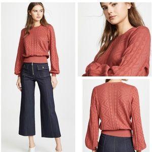 🆕Joie Jaeda Knit Blouson Sweater NWT